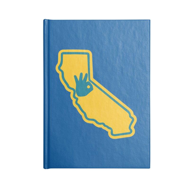 California Dub Love Accessories Notebook by The Phantom's T-Shirt Shop