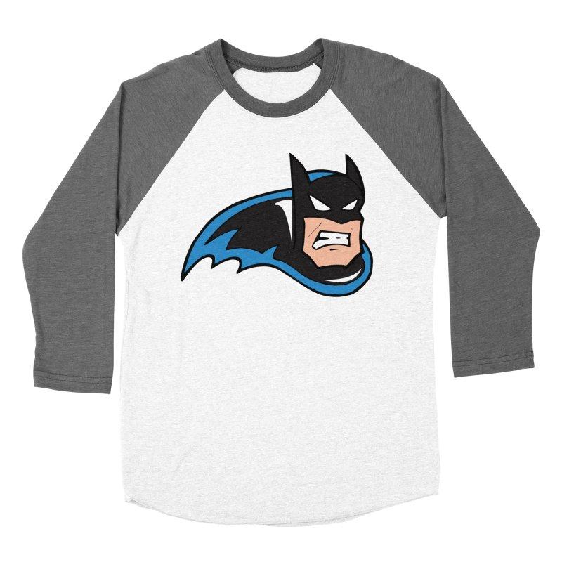Batman, like a Panther Men's Baseball Triblend T-Shirt by The Phantom's T-Shirt Shop