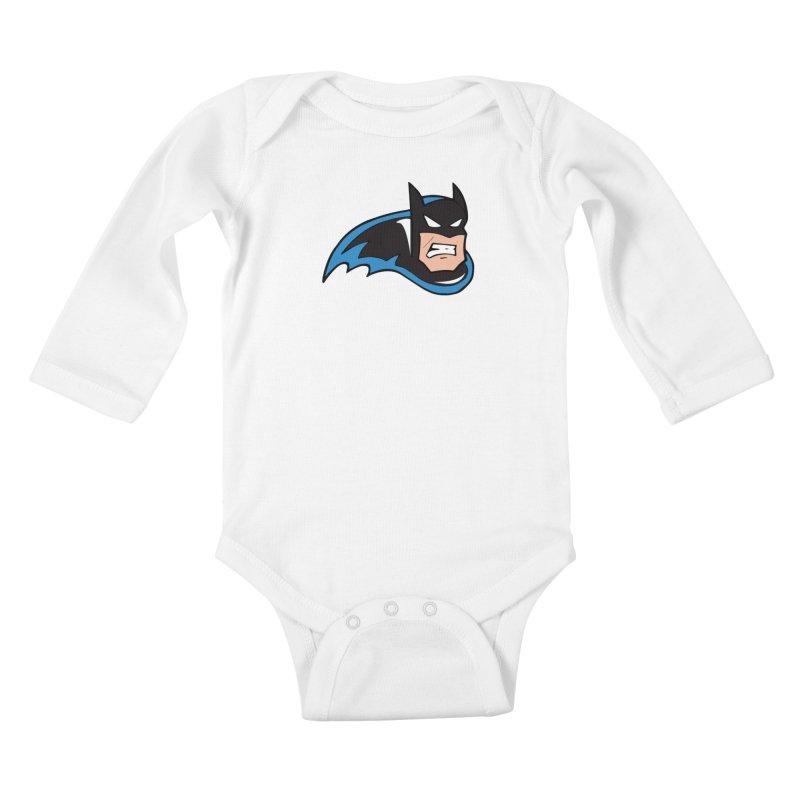 Batman, like a Panther Kids Baby Longsleeve Bodysuit by The Phantom's T-Shirt Shop