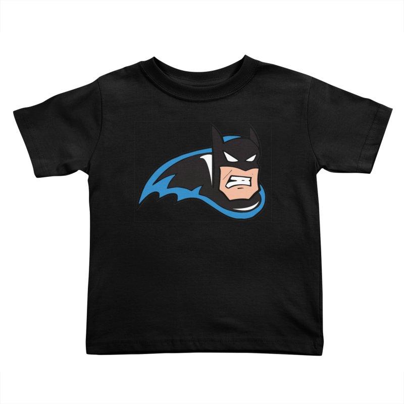Batman, like a Panther Kids Toddler T-Shirt by The Phantom's T-Shirt Shop