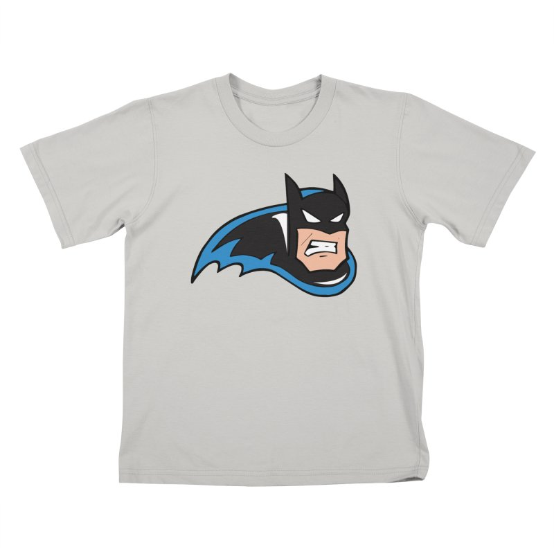 Batman, like a Panther Kids T-Shirt by The Phantom's T-Shirt Shop