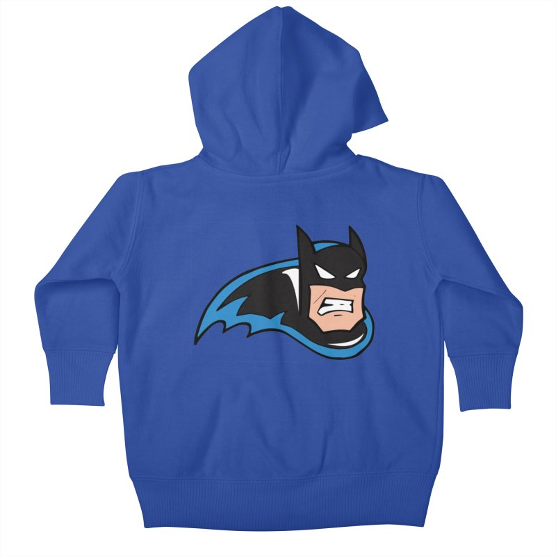 Batman, like a Panther Kids Baby Zip-Up Hoody by The Phantom's T-Shirt Shop
