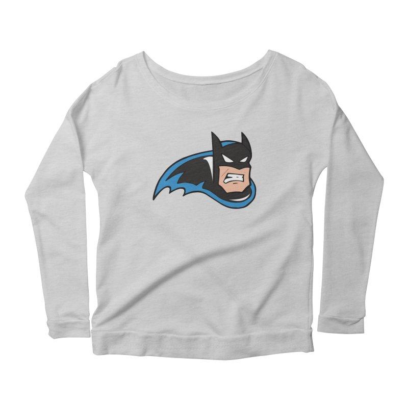 Batman, like a Panther Women's Longsleeve Scoopneck  by The Phantom's T-Shirt Shop