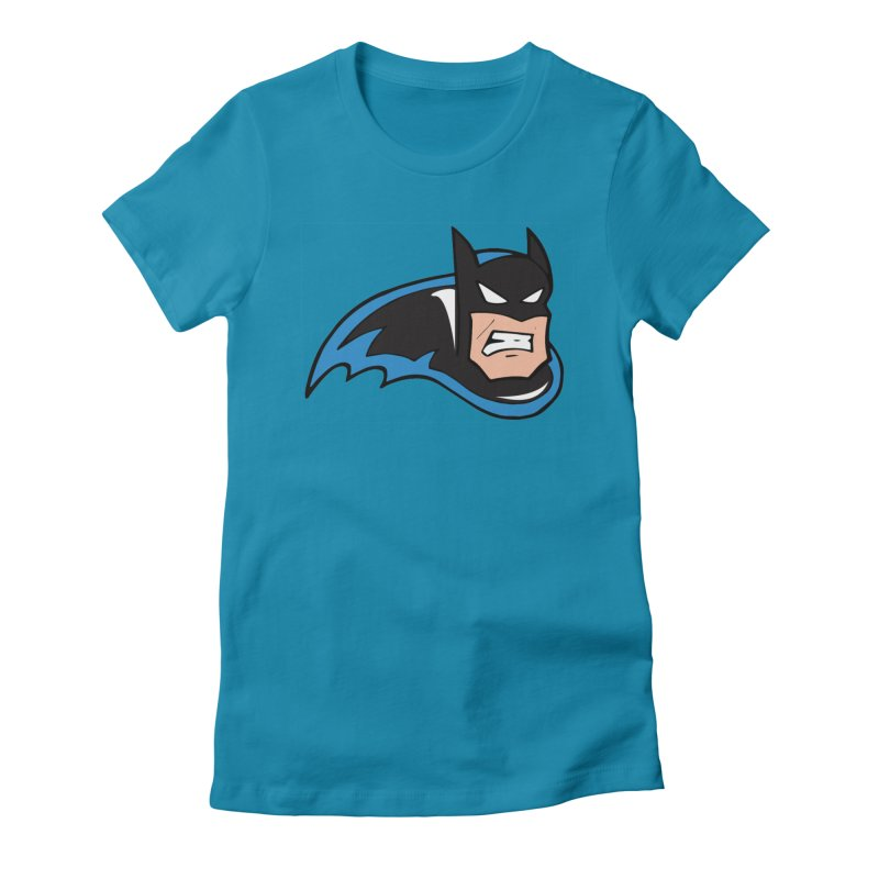 Batman, like a Panther Women's Fitted T-Shirt by The Phantom's T-Shirt Shop
