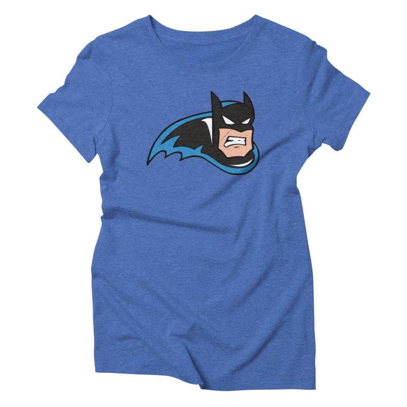Batman, like a Panther Women's Triblend T-Shirt by The Phantom's T-Shirt Shop