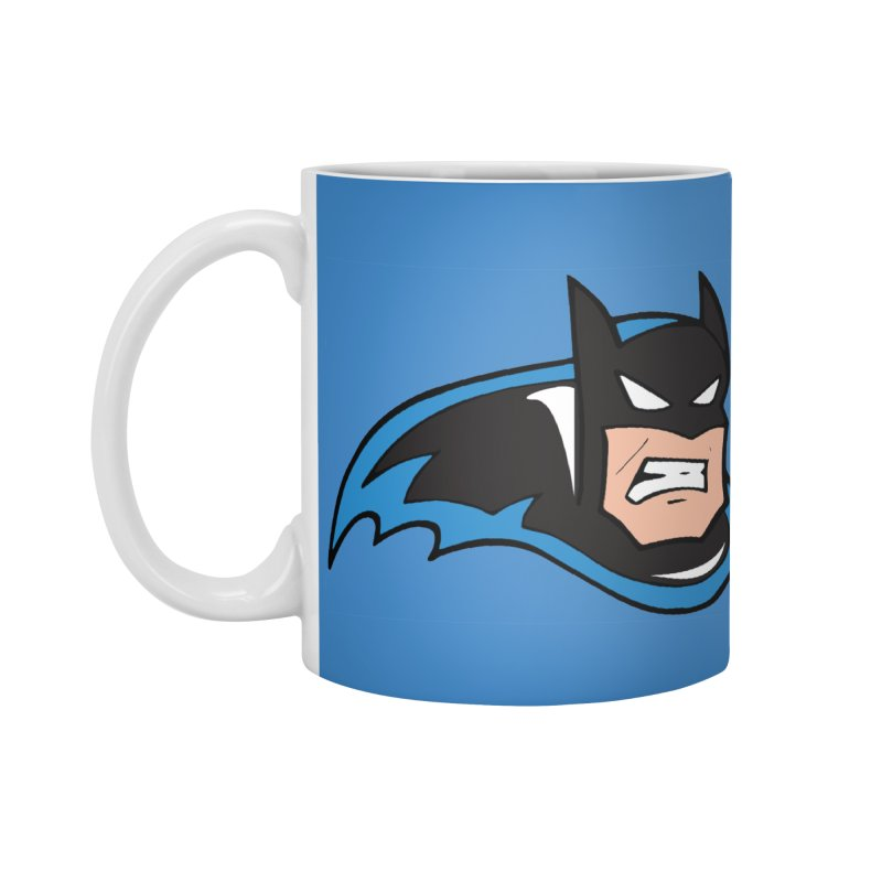 Batman, like a Panther Accessories Mug by The Phantom's T-Shirt Shop