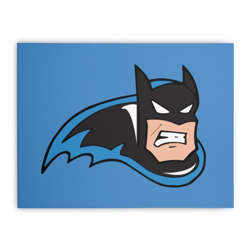 Batman, like a Panther Home Stretched Canvas by The Phantom's T-Shirt Shop