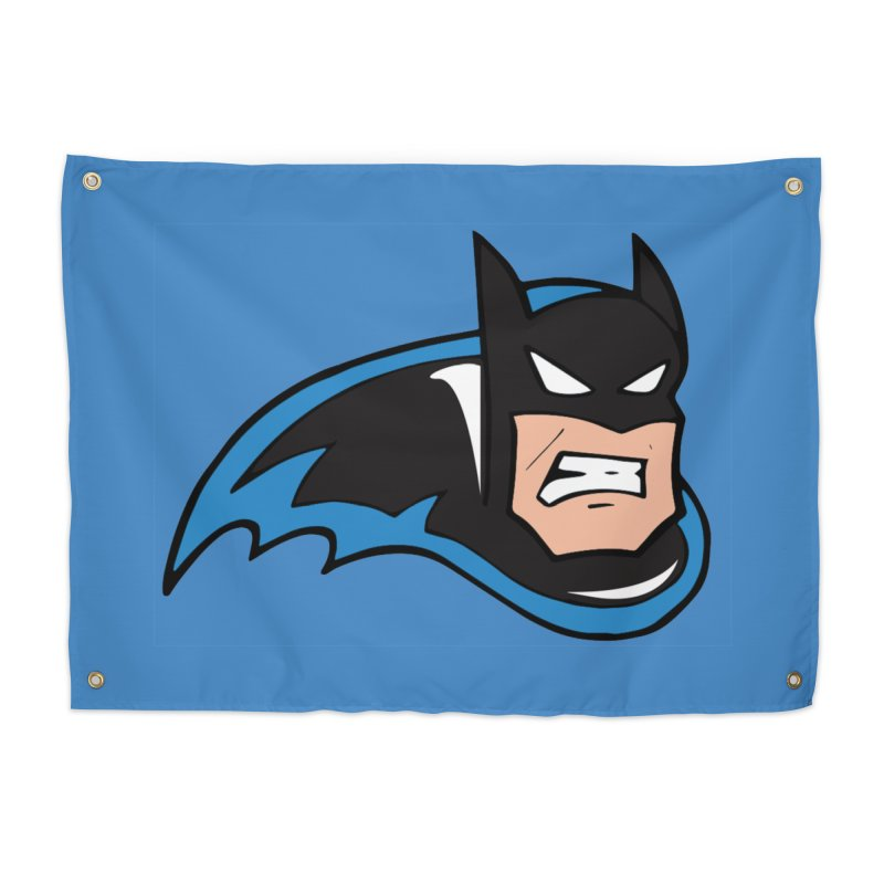Batman, like a Panther Home Tapestry by The Phantom's T-Shirt Shop