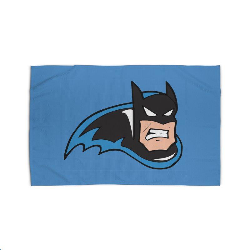 Batman, like a Panther Home Rug by The Phantom's T-Shirt Shop