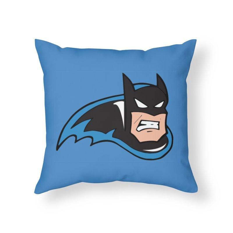 Batman, like a Panther Home Throw Pillow by The Phantom's T-Shirt Shop