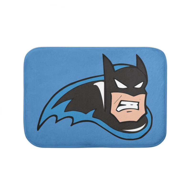 Batman, like a Panther Home Bath Mat by The Phantom's T-Shirt Shop