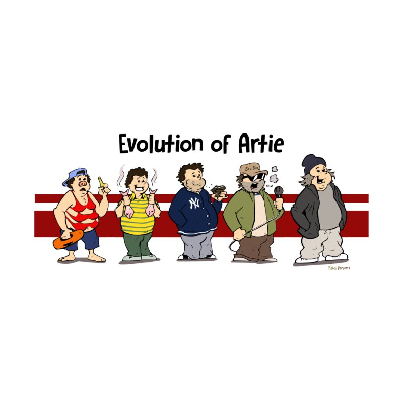 Evolution of Artie Lange by The Phantom's T-Shirt Shop
