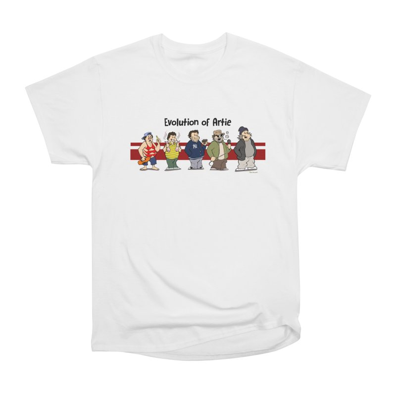 Evolution of Artie Lange Men's Classic T-Shirt by The Phantom's T-Shirt Shop