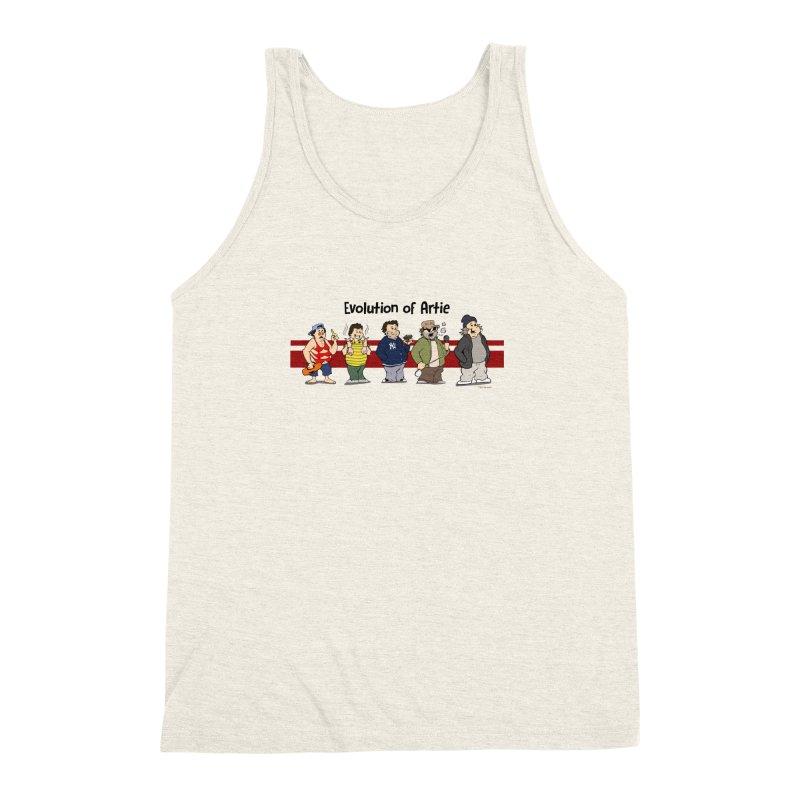 Evolution of Artie Lange Men's Triblend Tank by The Phantom's T-Shirt Shop