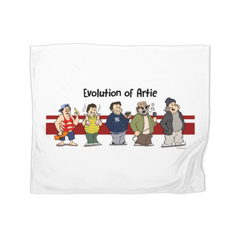 Evolution of Artie Lange Home Blanket by The Phantom's T-Shirt Shop