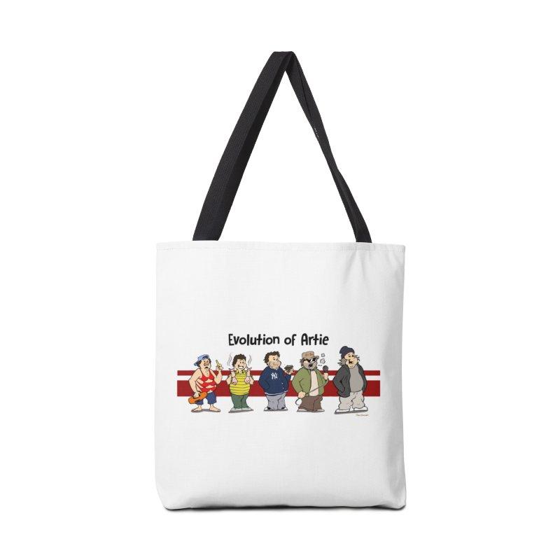 Evolution of Artie Lange Accessories Bag by The Phantom's T-Shirt Shop