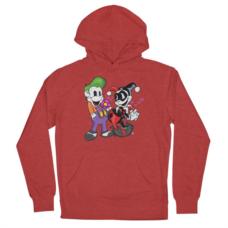 BFF's The Lovers Women's Pullover Hoody by Mike Hampton's T-Shirt Shop