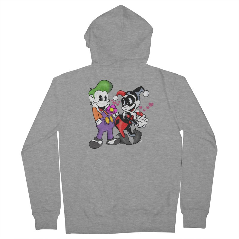 BFF's The Lovers Women's Zip-Up Hoody by The Phantom's T-Shirt Shop