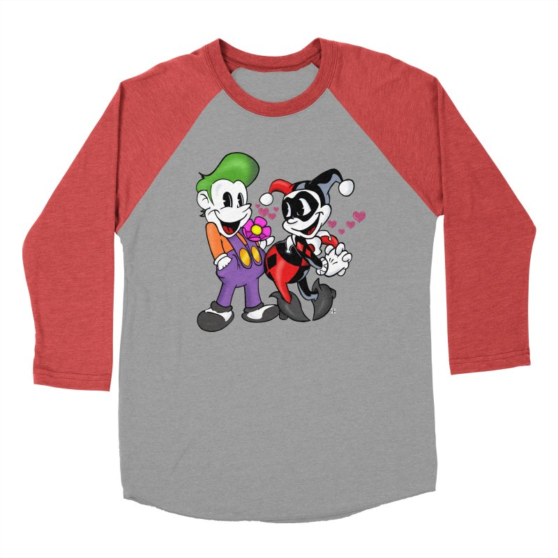 BFF's The Lovers Men's Baseball Triblend T-Shirt by The Phantom's T-Shirt Shop