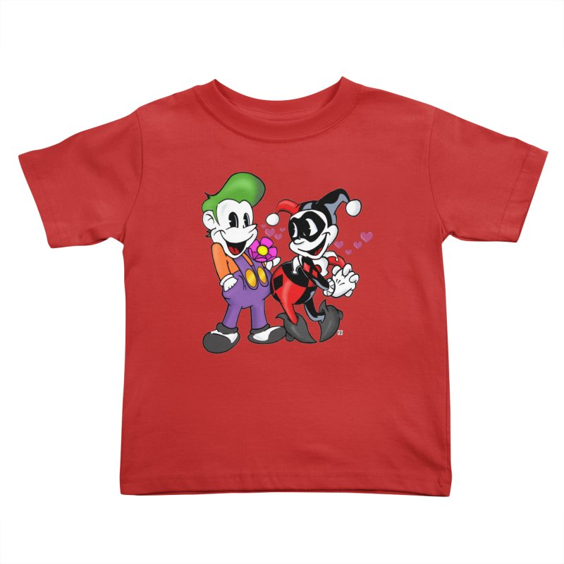 BFF's The Lovers Kids Toddler T-Shirt by Mike Hampton's T-Shirt Shop