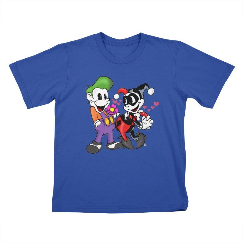 BFF's The Lovers Kids T-Shirt by Mike Hampton's T-Shirt Shop