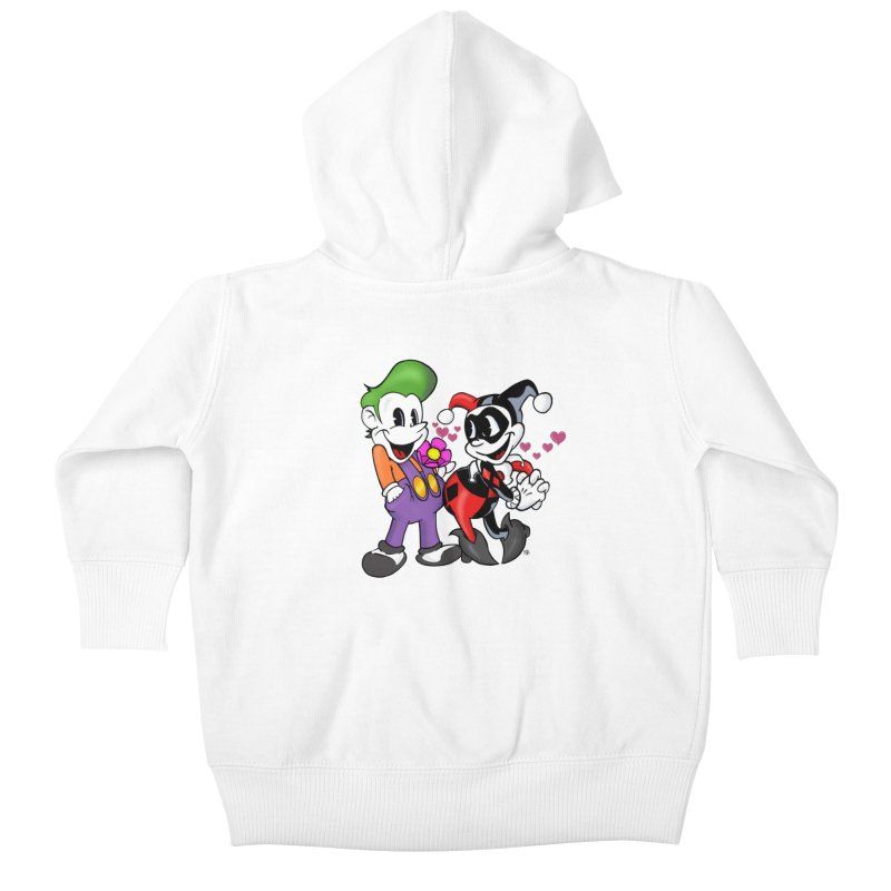 BFF's The Lovers Kids Baby Zip-Up Hoody by The Phantom's T-Shirt Shop