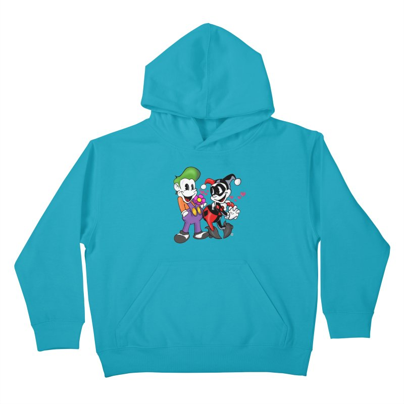 BFF's The Lovers Kids Pullover Hoody by The Phantom's T-Shirt Shop