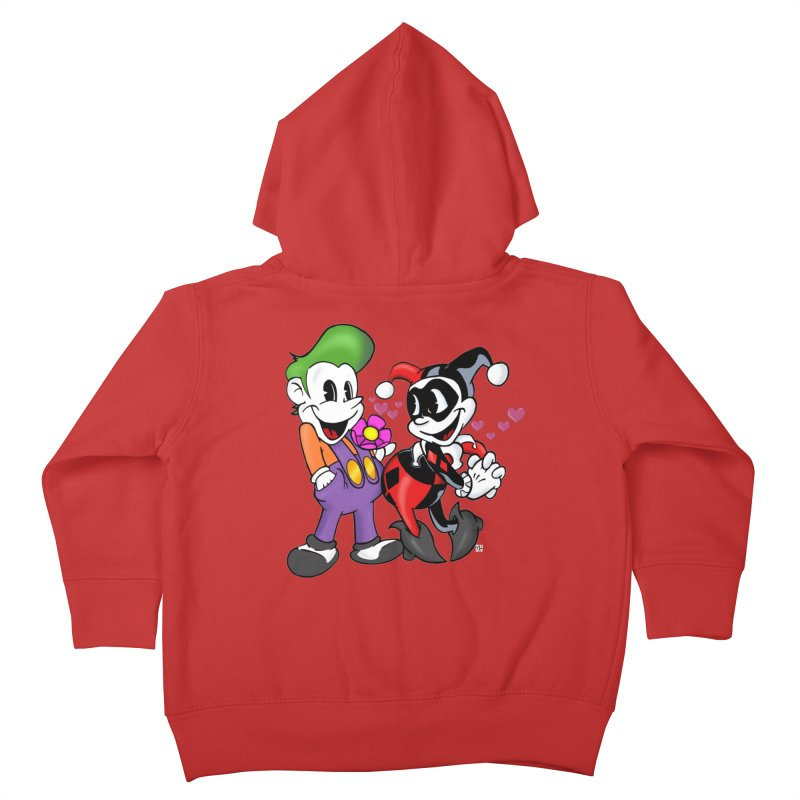 BFF's The Lovers Kids Toddler Zip-Up Hoody by The Phantom's T-Shirt Shop