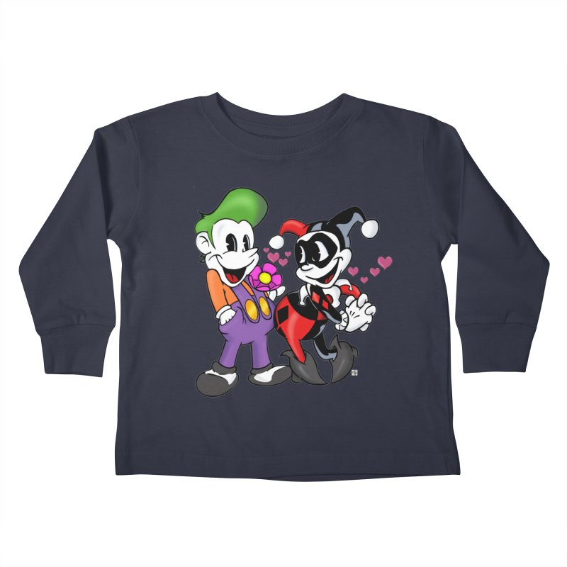 BFF's The Lovers Kids Toddler Longsleeve T-Shirt by The Phantom's T-Shirt Shop