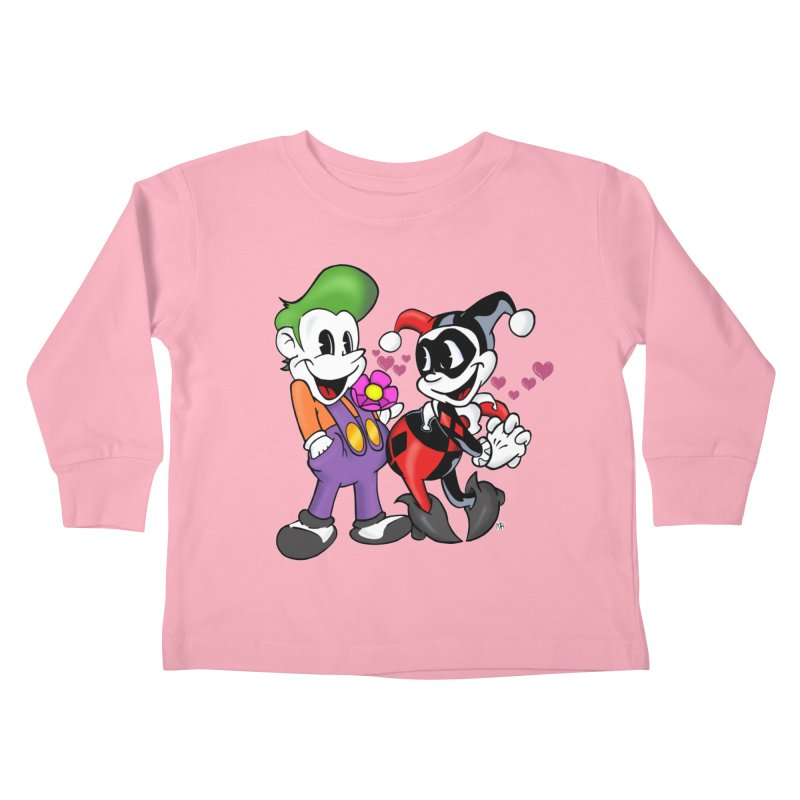 BFF's The Lovers Kids Toddler Longsleeve T-Shirt by Mike Hampton's T-Shirt Shop