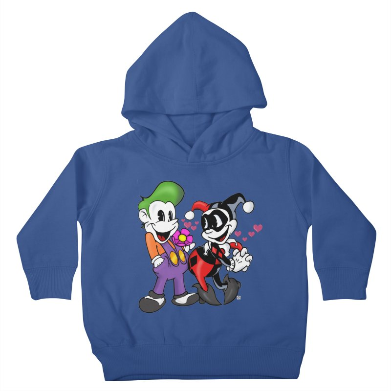BFF's The Lovers Kids Toddler Pullover Hoody by Mike Hampton's T-Shirt Shop