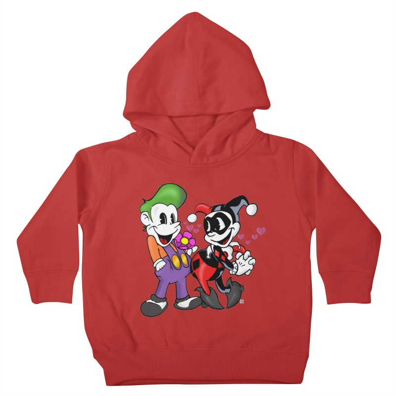 BFF's The Lovers Kids Toddler Pullover Hoody by The Phantom's T-Shirt Shop