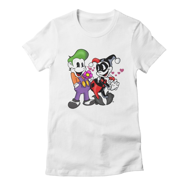 BFF's The Lovers Women's Fitted T-Shirt by The Phantom's T-Shirt Shop