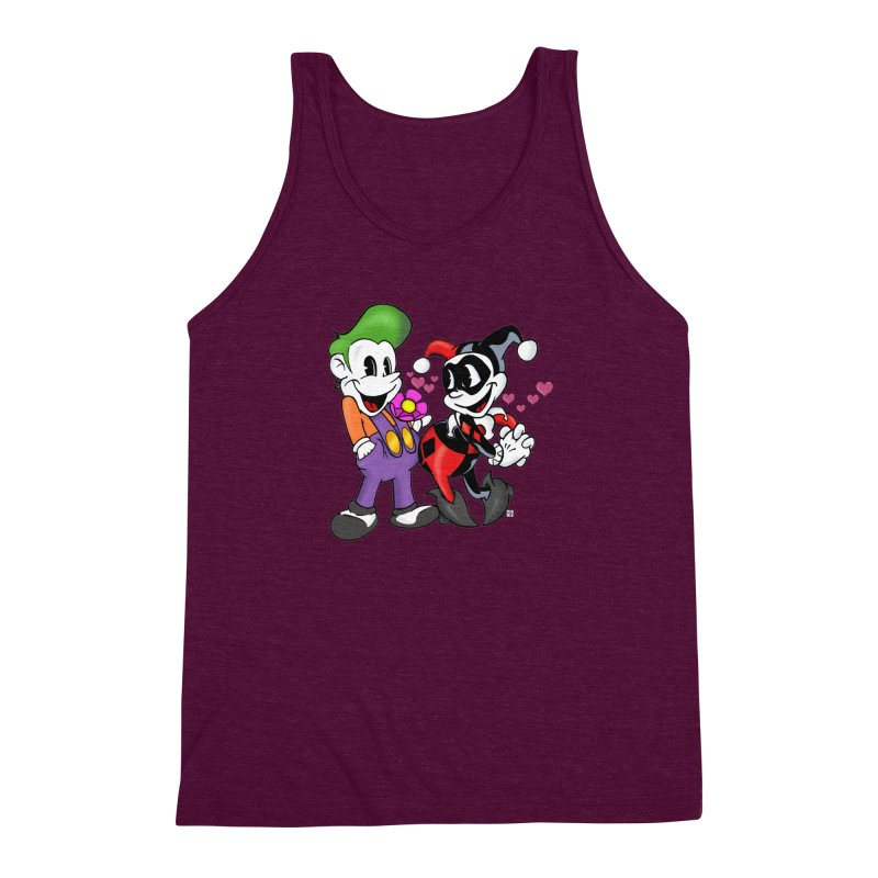 BFF's The Lovers Men's Triblend Tank by Mike Hampton's T-Shirt Shop