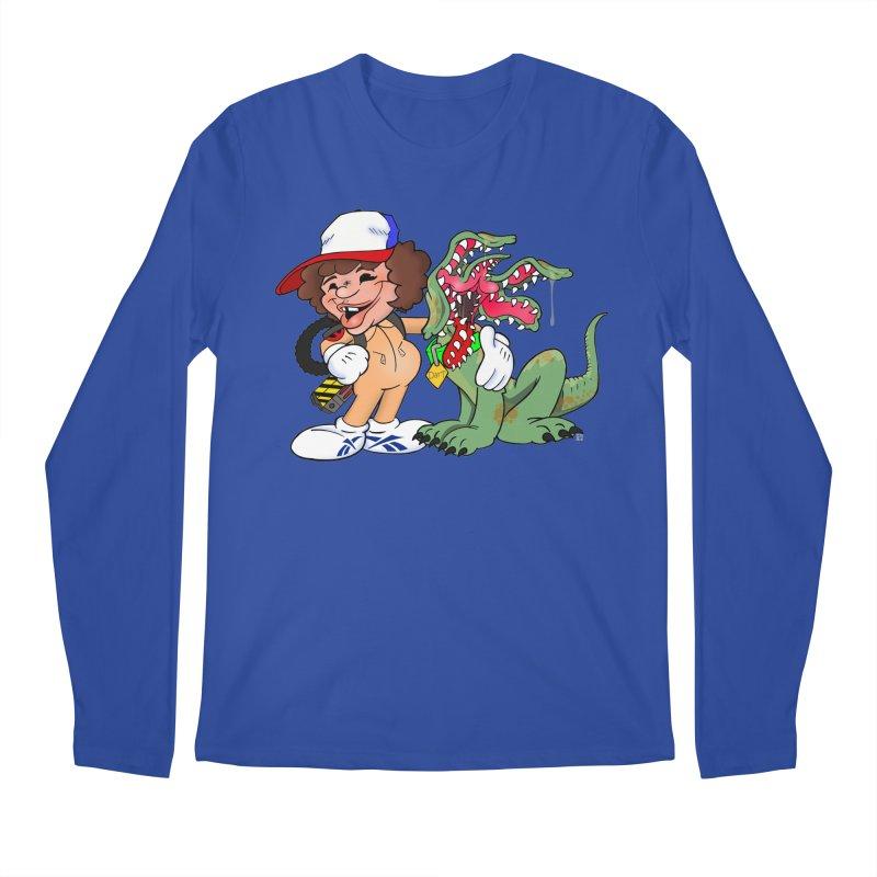 BFF's A boy and his... dog. Men's Longsleeve T-Shirt by The Phantom's T-Shirt Shop
