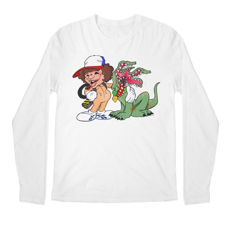BFF's A boy and his... dog. Men's Longsleeve T-Shirt by Mike Hampton's T-Shirt Shop