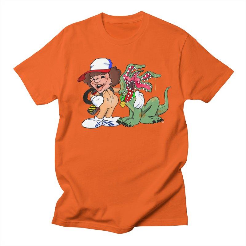 BFF's A boy and his... dog. Men's T-Shirt by Mike Hampton's T-Shirt Shop