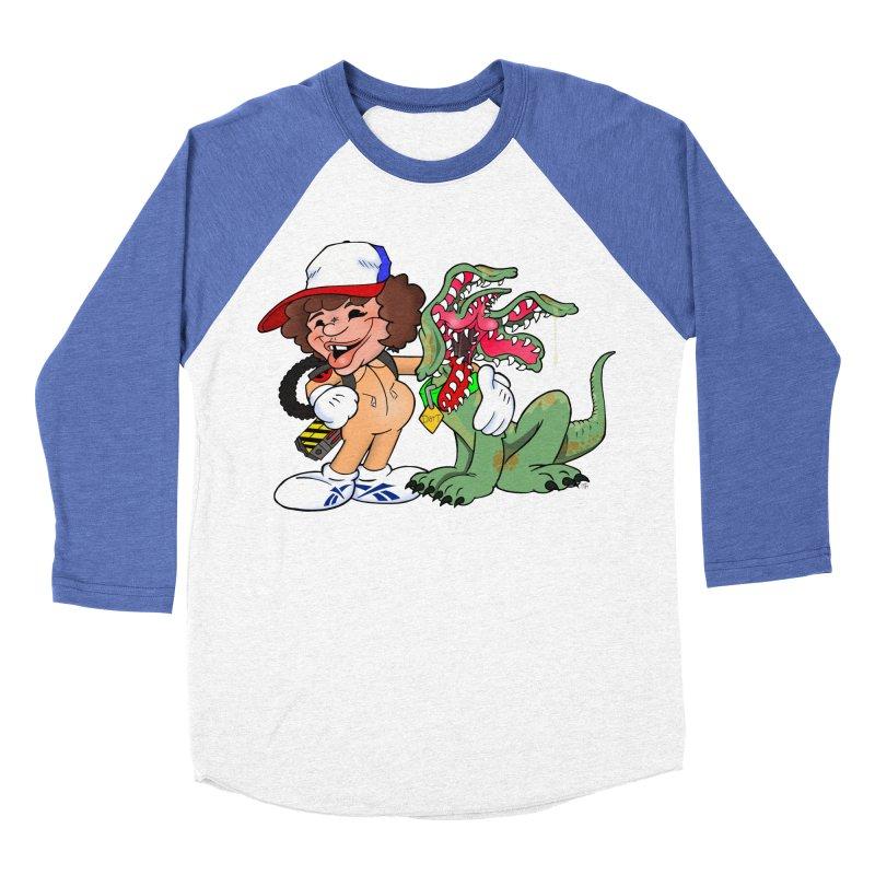 BFF's A boy and his... dog. Men's Baseball Triblend T-Shirt by The Phantom's T-Shirt Shop