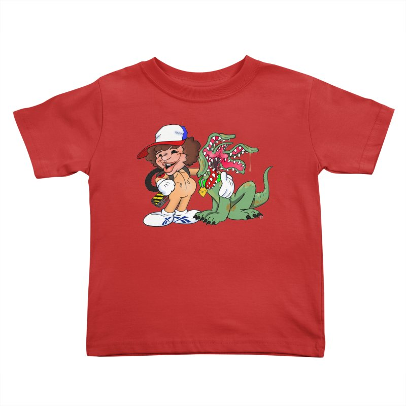 BFF's A boy and his... dog. Kids Toddler T-Shirt by The Phantom's T-Shirt Shop