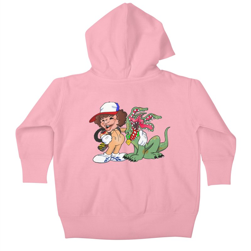 BFF's A boy and his... dog. Kids Baby Zip-Up Hoody by The Phantom's T-Shirt Shop