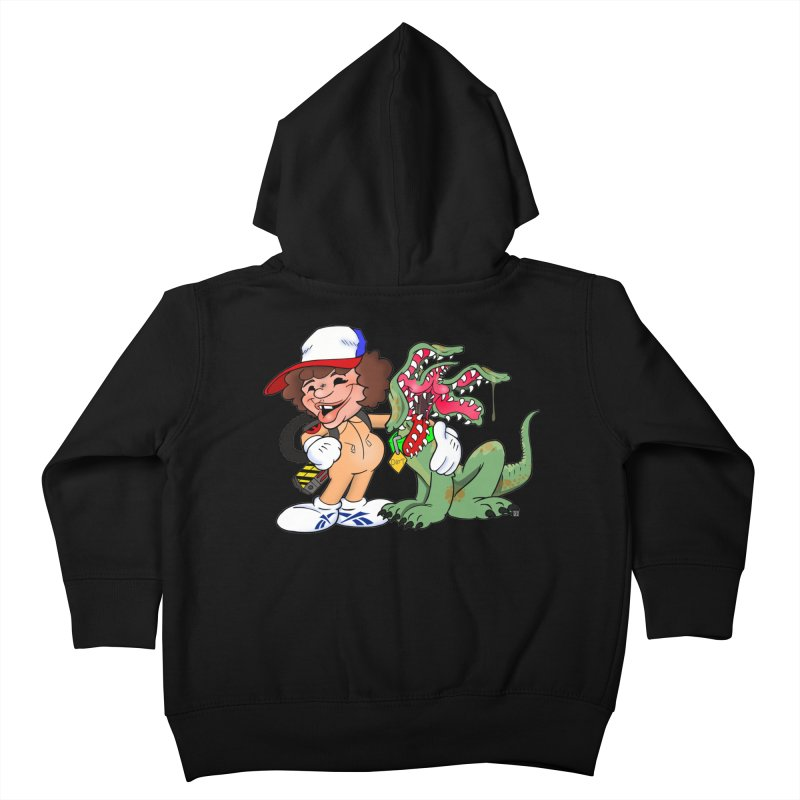 BFF's A boy and his... dog. Kids Toddler Zip-Up Hoody by The Phantom's T-Shirt Shop