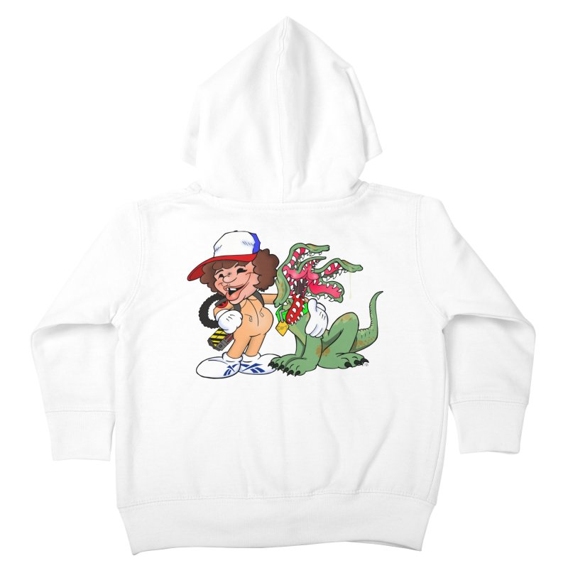 BFF's A boy and his... dog. Kids Toddler Zip-Up Hoody by Mike Hampton's T-Shirt Shop