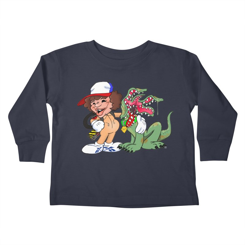BFF's A boy and his... dog. Kids Toddler Longsleeve T-Shirt by The Phantom's T-Shirt Shop