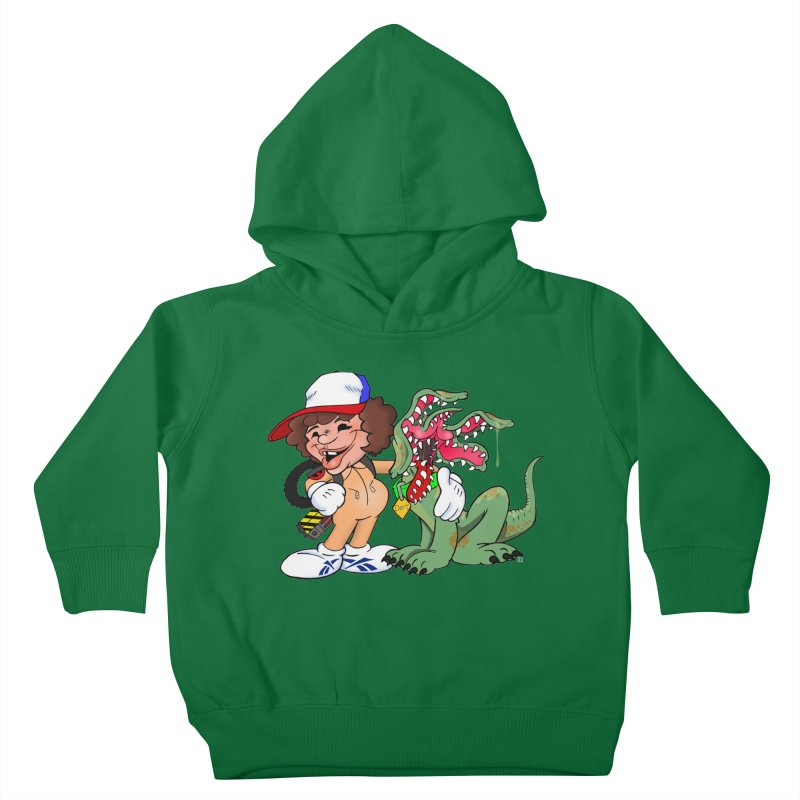 BFF's A boy and his... dog. Kids Toddler Pullover Hoody by The Phantom's T-Shirt Shop