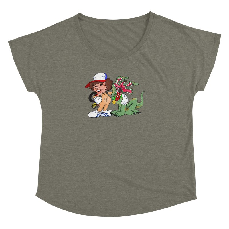 BFF's A boy and his... dog. Women's Dolman by The Phantom's T-Shirt Shop