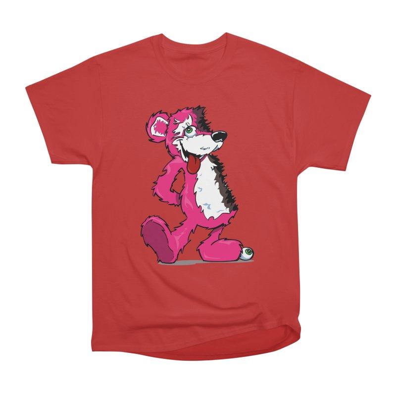 Breaking Bear Women's Classic Unisex T-Shirt by Mike Hampton's T-Shirt Shop