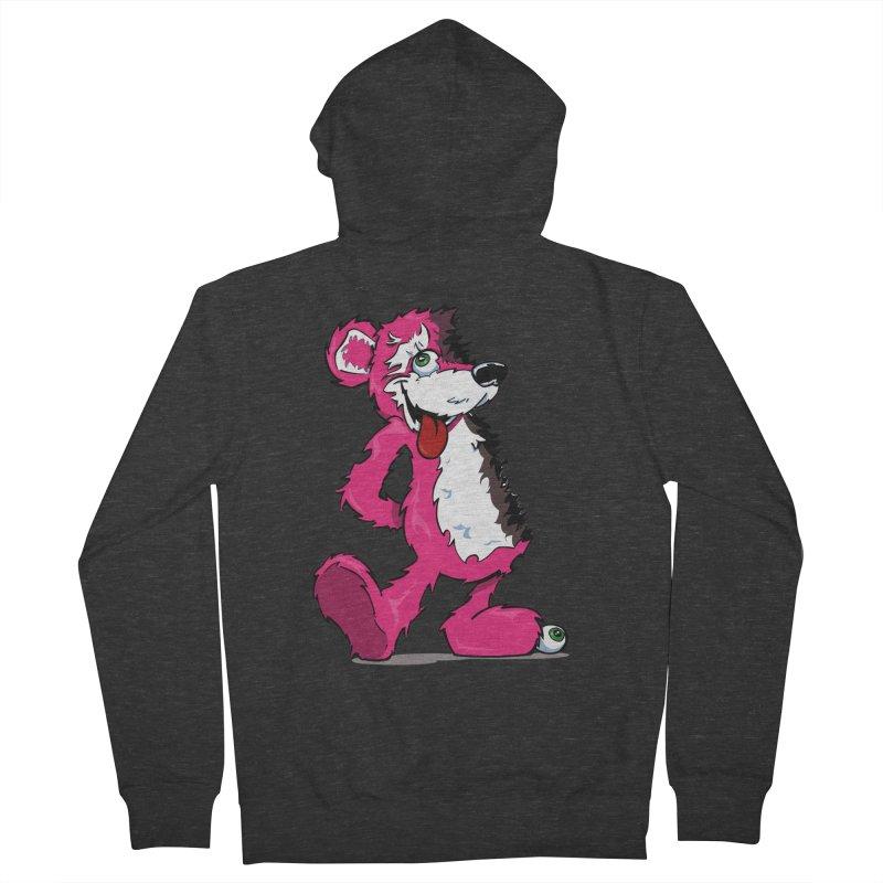 Breaking Bear Women's Zip-Up Hoody by Mike Hampton's T-Shirt Shop