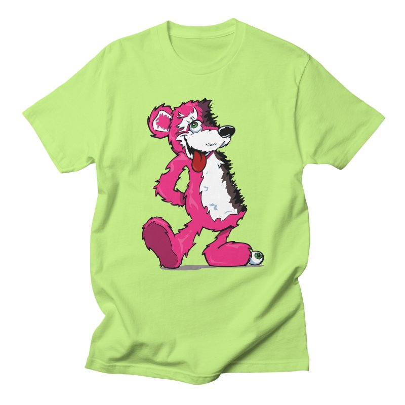 Breaking Bear Women's Unisex T-Shirt by The Phantom's T-Shirt Shop