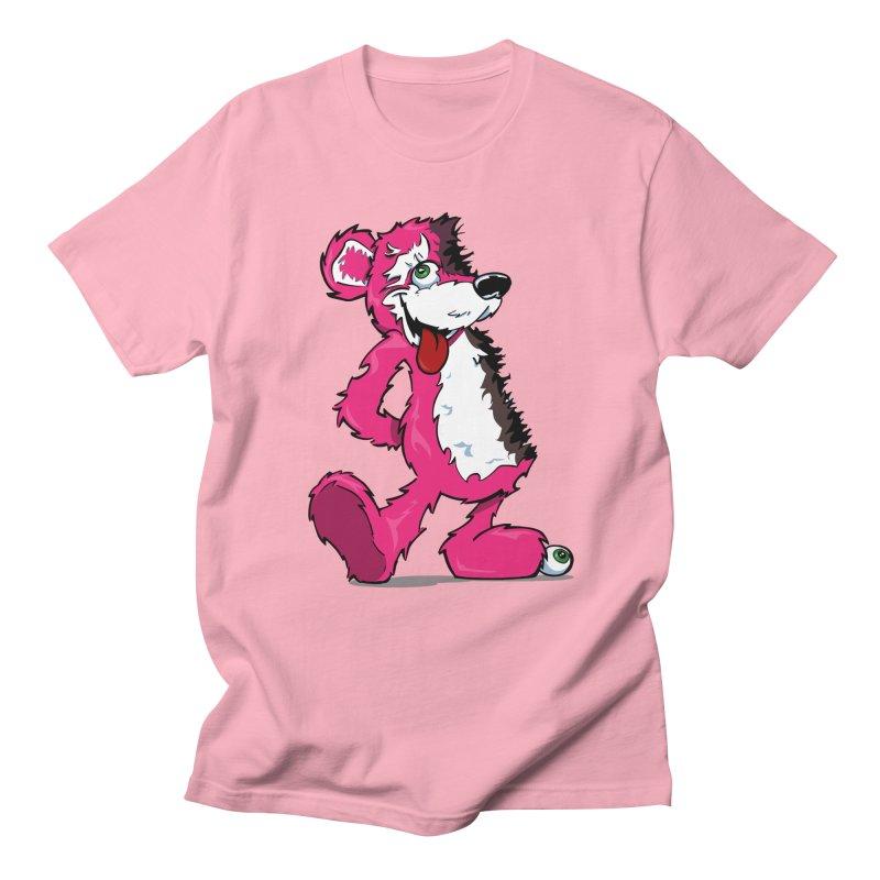 Breaking Bear Men's T-Shirt by The Phantom's T-Shirt Shop
