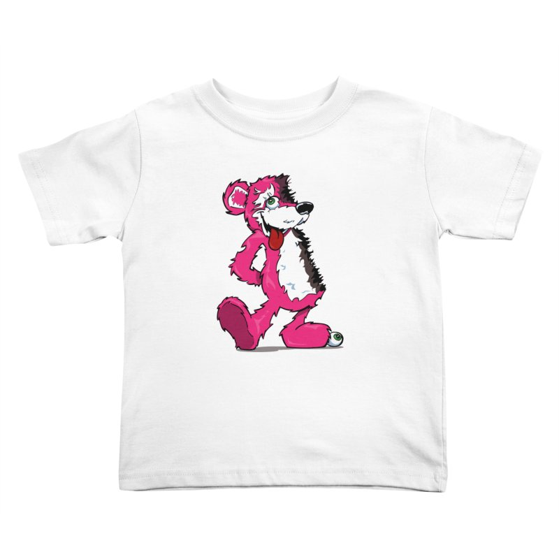 Breaking Bear Kids Toddler T-Shirt by The Phantom's T-Shirt Shop